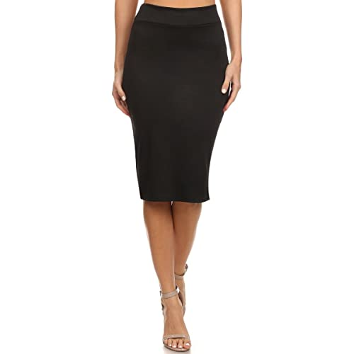 022e2d922 Women's Below The Knee Pencil Skirt for Office Wear - Made in USA