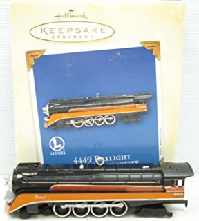 Hallmark Keepsake Ornament Daylight Steam Locomotive 8th in Series 2003