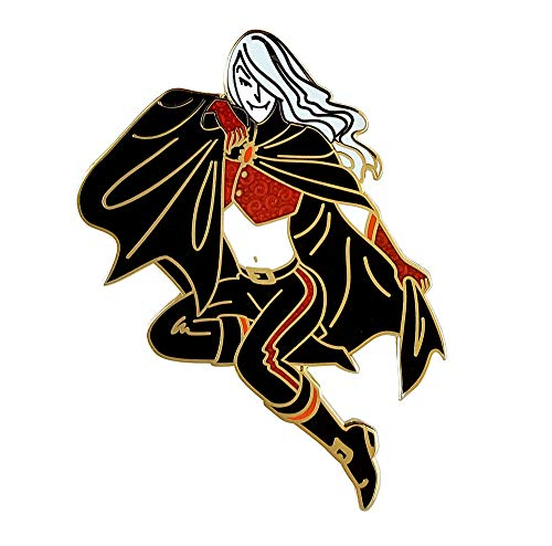 Pinsanity Vampire Pin Up Boy Enamel Lapel Pin