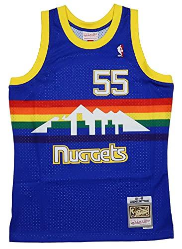 Mitchell & Ness Denver Nuggets Road 1991-92 Dikembe Mutombo (XL)