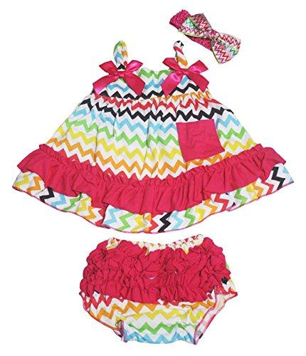 Petitebelle - Ensemble - Robe - Bébé (fille) 0 à 24 mois multicolore Multicoloured taille unique - multicolore - S