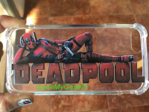 Deadpool 2 Marvel TPU Durable Shockproof iPhone 7 8 Phone case
