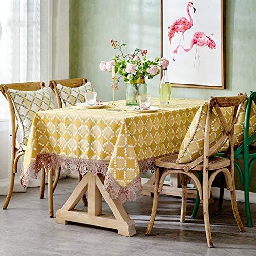 Couverture européenne de table de luxe de dentelle de luxe de nappe de tissu européen pour le décor à la maison, les fêtes d'anniversaire, les réceptions de mariage, tables de salle à manger