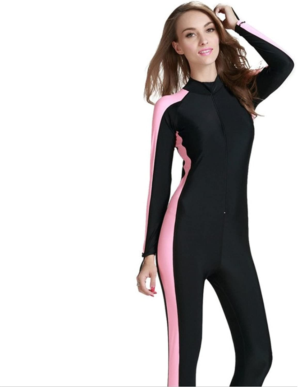 Women's Onepiece Swimwear Full Cover Wetsuits Modest Swimsuits for Women Surfing Suit Jellyfish Swimsuit