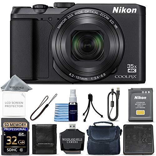 Nikon COOLPIX A900 Digital Camera (Black) + 32GB Memory + Ultimate Starter Bundle