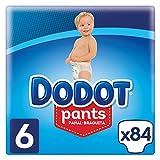 Dodot Pants Pañal-Braguita Talla 6, 84 Pañales, Fácil De Cambiar Con Canales De Aire, 15+kg