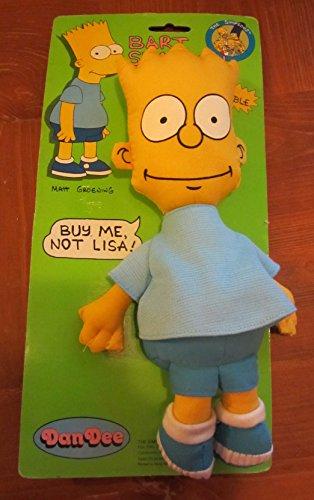Simpsons Bart Simpson rag Doll