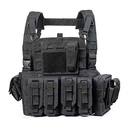 vAv YAKEDA Tactical CS Adjustable Vest (Black)