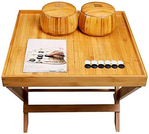 YZ-YUAN Juegos Casuales Accesorios para el hogar Tablero de Grabado de Doble Cara Doble incrustado Tablero Plegable Simple