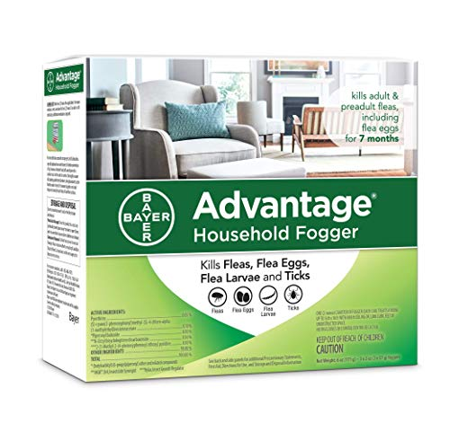 Advantage Flea and Tick Household Fogger, three 2...