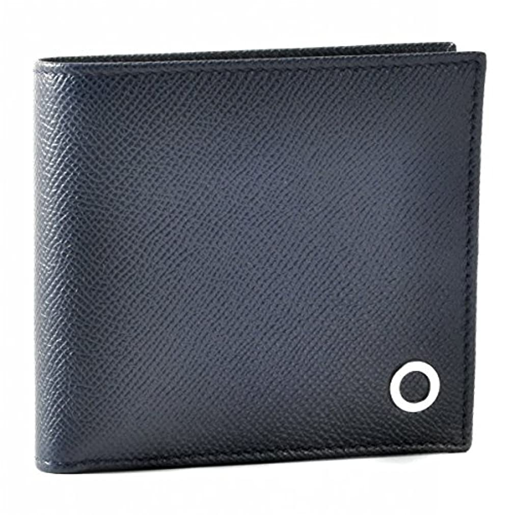 代表団退院にやにやBVLGARI(ブルガリ) 財布 メンズ BVLGARI BVLGARI MAN 2つ折り財布 ネイビー 39324-0003-0054 [並行輸入品]