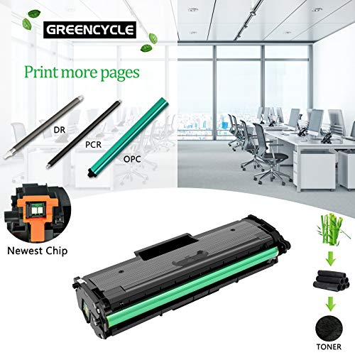 GREENCYCLE 1500 Pages per Toner Cartridge Replacement Compatible for Samsung MLT-D101L MLT D101L D101S Used in ML-2165W SCX-3400F SCX-3405FW SF-760P Printer (Black, 1-Pack) Photo #7