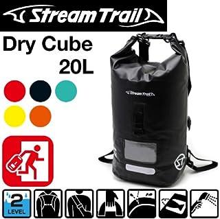 StreamTrail ストリームトレイル 防水バッグ DRY CUBE 20L シリンダーバッグ シリンダーバック