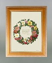 BiblioArt Series P.J.ルドゥーテ 「薔薇の環」 額装品