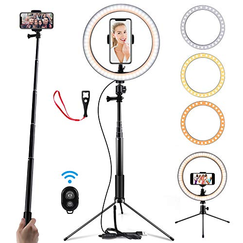 70% off Selfie Ring Light with Stand Clip the Extra 20% off Coupon and Use Promo Code: 50VQOT8Q 2