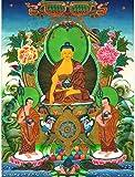 LFLFLF Mini Rompecabezas de 2000 Piezas Retro Buddha Landscape es un Gran Rompecabezas de Juguete Adecuado para Adultos, Adolescentes, niños, Amigos y Familiares.
