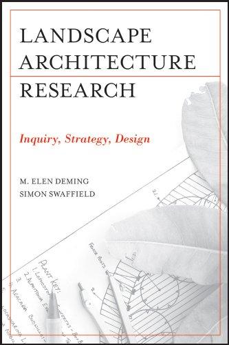 Landscape Architectural Research: Inquiry, Strategy, Design (English Edition)