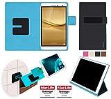 reboon Hülle für Huawei MediaPad T2 7.0 Pro Tasche Cover Hülle Bumper | in Schwarz | Testsieger