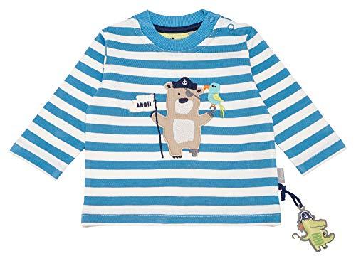 Sigikid Baby-Jungen Langarmshirt, Mehrfarbig (Niagara 511), (Herstellergröße: 92)