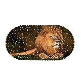 DREAMING-Lion Home Baño Antideslizante Estera Material De PVC Ventosa Antideslizante Estera del Piso del Hotel Estera De La Bañera Estera De La Cocina 35 * 70CM