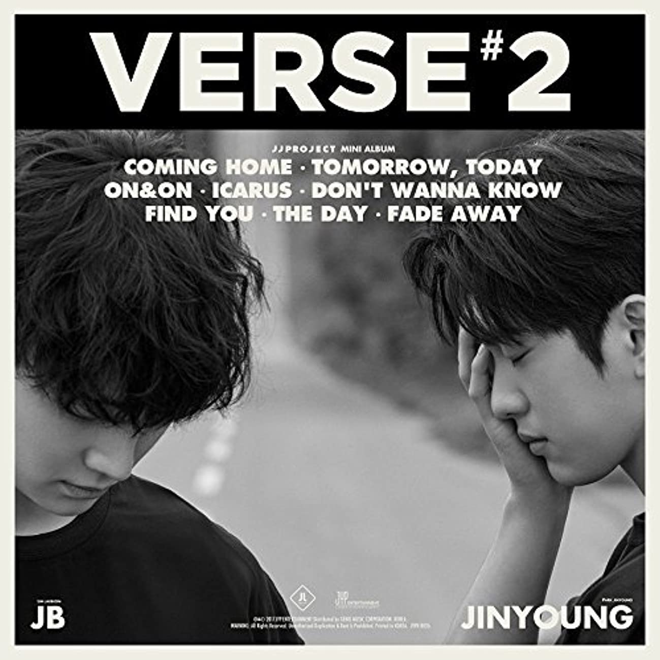 JYP Entertainment JJ PROJECT - Verse 2 (2nd Album) [Tomorrow ver.] CD+Photobook