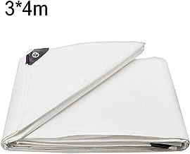 Robusta Copertura Impermeabile per Groundsheet JINGKE Telone Bianco Standard Tela Cerata per Telone in PVC,2x2m 550 G // ㎡
