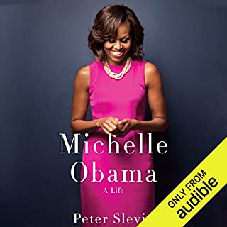 Michelle Obama     A Life              Auteur(s):                                                                                                                                 Peter Slevin                               Narrateur(s):                                                                                                                                 Robin Miles                      Durée: 15 h et 33 min     7 évaluations     Au global 4,6
