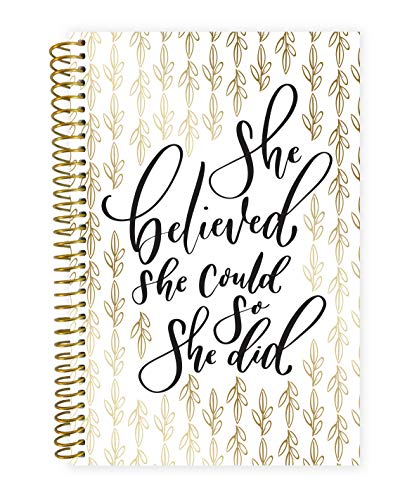 """bloom daily planners 2020 Calendar Year Day Planner (January 2020 - December 2020) - 6"""" x 8.25"""" - Weekly/Monthly Agenda Organizer Book with Tabs & Flexible Soft Cover - Writefully His"""