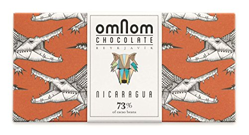 73% Nicaragua - 60gr Icelandic Bean To Bar Chocolate by Omnom Chocolate