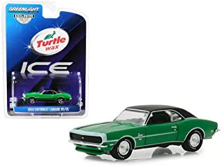 1968 Chevy Camaro RS/SS, Turtle Wax - Greenlight 30018/48 - 1/64 Scale Diecast Model Toy Car