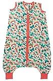 Saco de dormir Slumbersac de muselina con pies aprox. 0.5 Tog - Mariposas- 3-4 Años/110cm