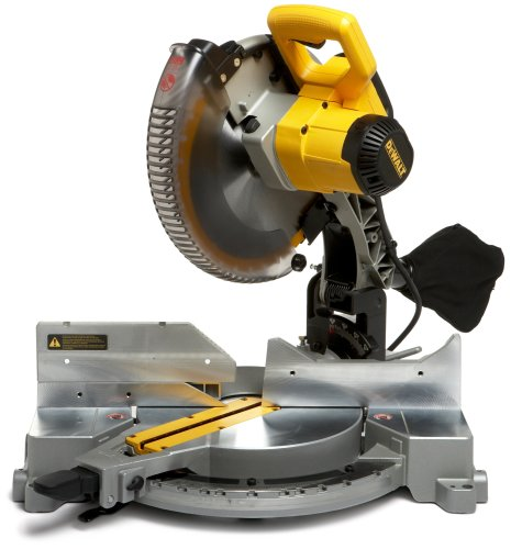DEWALT DW715R Heavy-Duty 15 Amp 12-Inch Compound Miter saw