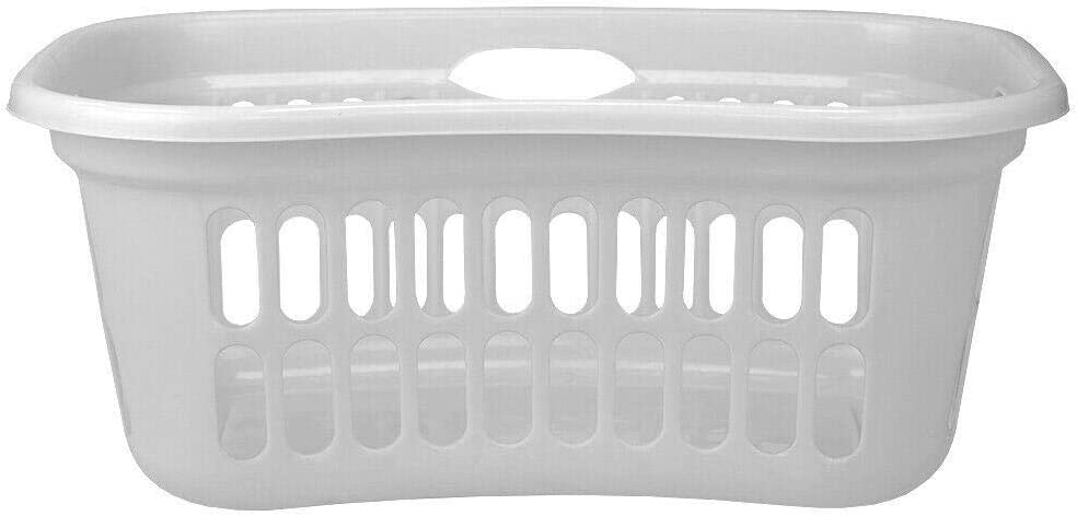 Curved Hip Holding Large Capacity Shipping included Laundry Ea Plastic Basket with Los Angeles Mall