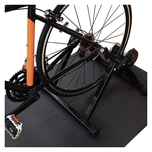 OESFL Indoor Bike Trainer Stand Vélo Indoor Fluid Vélo Stand Traineur de vélo Indoor 750W Résistance à l'extérieur Entraîneur de vélo d'intérieur EXERCICEUR D'EXERCICEUR for VENDES DE 20-28 Pouces