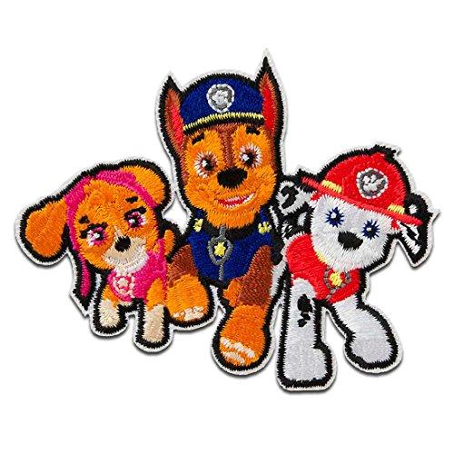 Parches - Paw Patrol Patrulla Canina Chase Marshall