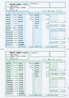 ソリマチ 給与・賞与明細書(明細型)500枚入 SR210