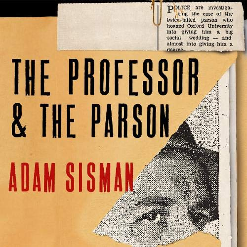 The Professor and the Parson cover art