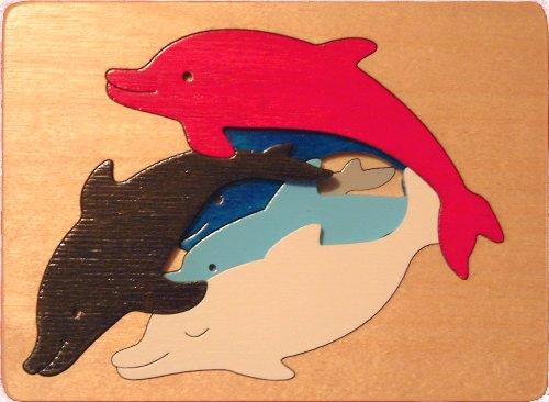 Dolphins Puzzle - George chance - de Marbel Jouets