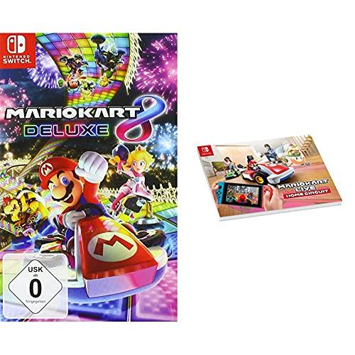 Mario Kart 8 Deluxe [Nintendo Switch] + Mario Kart Live: Home Circuit - Notebook A4