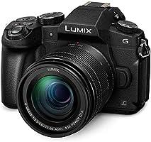 Panasonic LUMIX G85 4K Digital Camera, 12-60mm Power O.I.S. Lens, 16 Megapixel Mirrorless Camera, 5 Axis In-Body Dual...