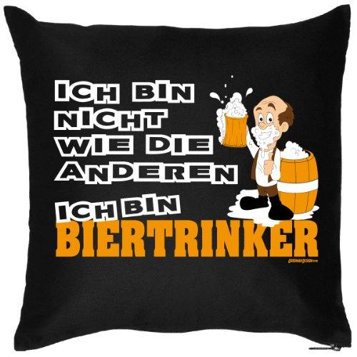 Bier Trinker Spaßiges Kissen