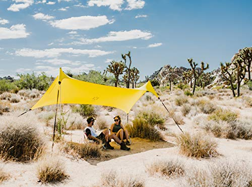 Neso Sidelines Grande : Versatile Sports Sun Shelter, Patented Corners & Poles, 100% Recycled Stakes