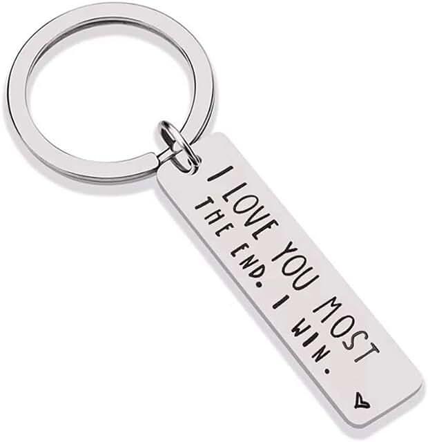 Couple Keychain I Love You