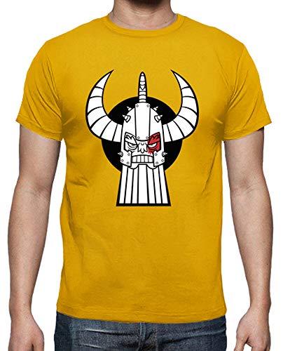 latostadora - Camiseta Vikingo para Hombre