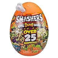 ZURU SMASHERS Series 3 Epic Dino Egg Collectibles(Assorted color bone)