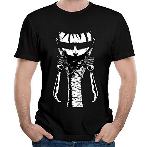 Men's John T-Shirt Cotton Tee Black