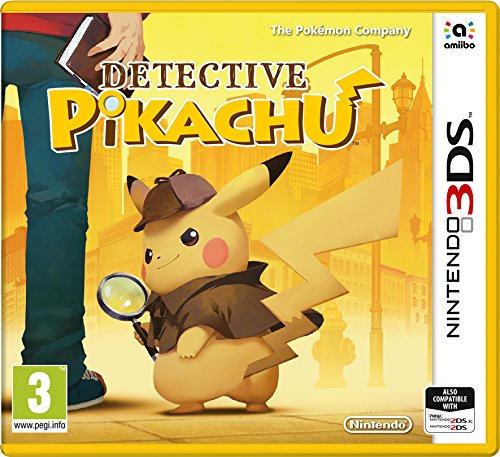 Detective Pikachu 3Ds- Nintendo 3Ds