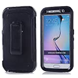 Best Galaxy S6 Cases - Galaxy S6,Harsel Heavy Duty Shockproof 3-Layer Military Outdoor Review