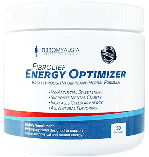 Fibrolief: All-Natural Energy Optimizer Supplement Powder - Absorbs Fast - Safe for Fibromyalgia - Fibromyalgia and Rheumatoid Arthritis Support - One Month Supply