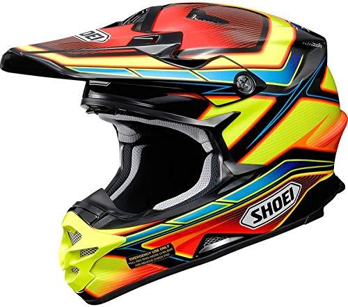 Shoei VFX-W Capacitor TC-3 MX-Helm, Farbe dekor, Größe S